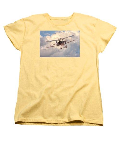 Morning Flight - Se5a Women's T-Shirt (Standard Cut) by David Collins