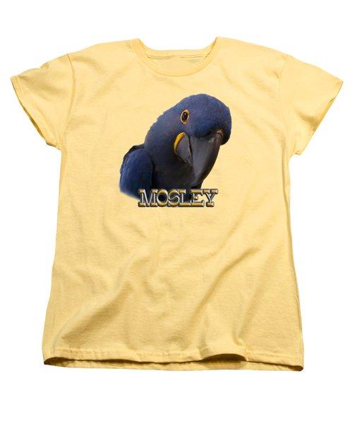 Mosley Women's T-Shirt (Standard Cut) by Zazu's House Parrot Sanctuary