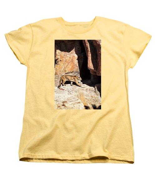 Mountain Lion Women's T-Shirt (Standard Cut)