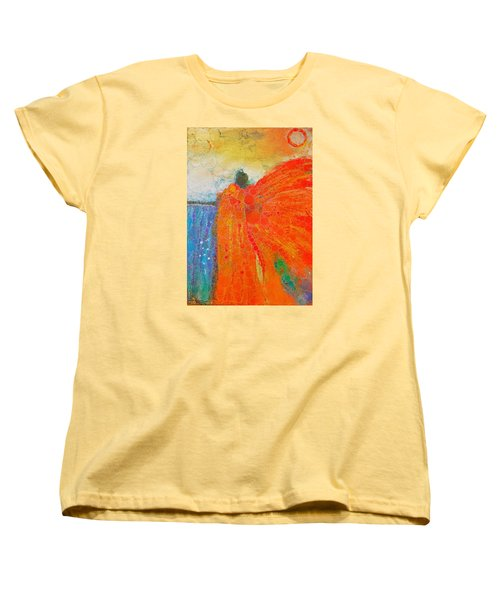 Mprints - Angel Of The Morning Women's T-Shirt (Standard Cut) by M Stuart
