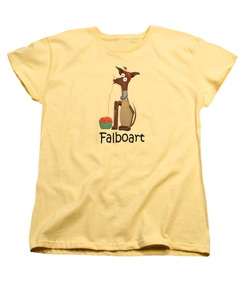 My Applehead Chiwawa Women's T-Shirt (Standard Cut) by Anthony Falbo