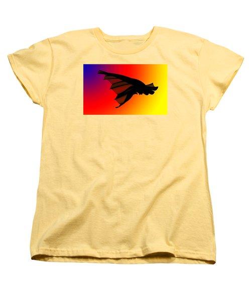 Mystery In Flight Women's T-Shirt (Standard Cut) by Allen Beilschmidt