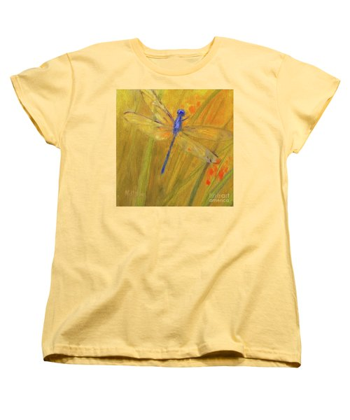 Mystic Dragonfly Women's T-Shirt (Standard Cut) by Mary Hubley