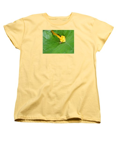 Women's T-Shirt (Standard Cut) featuring the photograph Narrow Leaf Gorge by Christina Verdgeline
