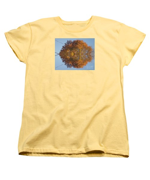 Women's T-Shirt (Standard Cut) featuring the photograph Nature Unleashed by Christina Verdgeline