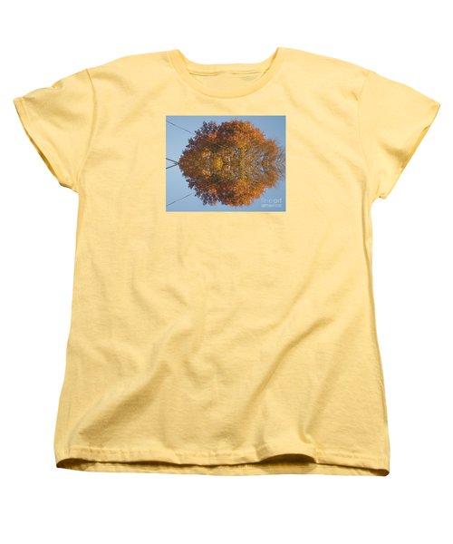 Nature Unleashed Women's T-Shirt (Standard Cut) by Christina Verdgeline