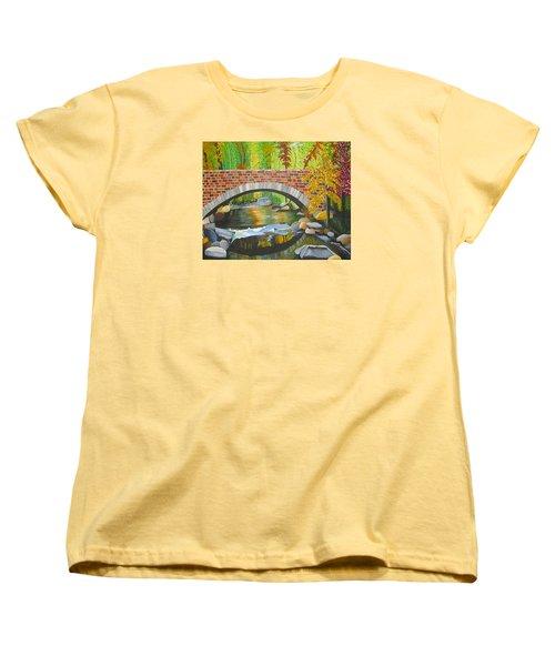 Natures Eye Women's T-Shirt (Standard Cut) by Donna Blossom