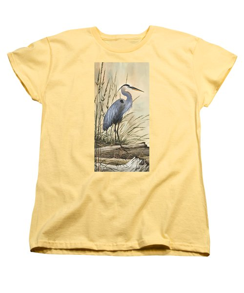Nature's Harmony Women's T-Shirt (Standard Cut) by James Williamson
