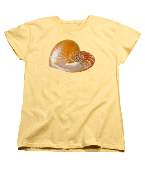 Nautilus Golden Glow Women's T-Shirt (Standard Fit)