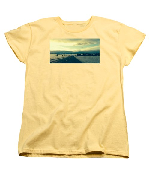 Women's T-Shirt (Standard Cut) featuring the photograph Near Hartsel by Christin Brodie