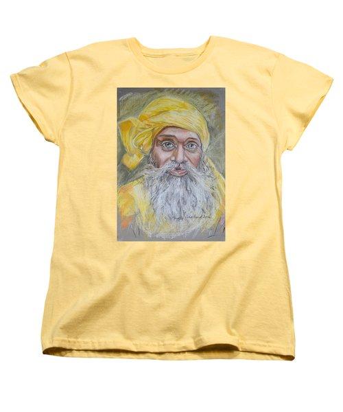 Nepal Man 6 Women's T-Shirt (Standard Cut) by Marty Garland