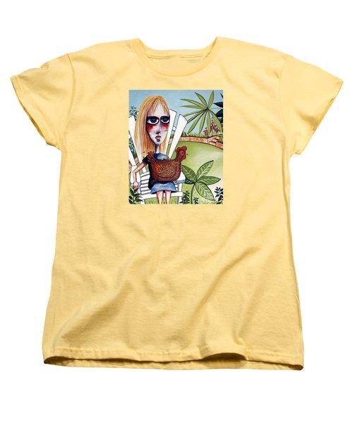 New Friends Women's T-Shirt (Standard Cut) by Leanne Wilkes