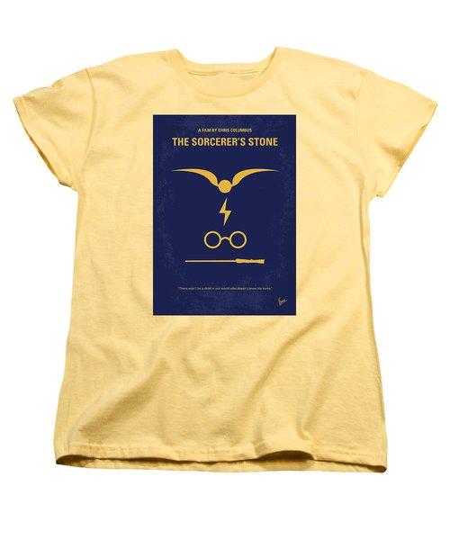 No101 My Harry Potter Minimal Movie Poster Women's T-Shirt (Standard Cut) by Chungkong Art
