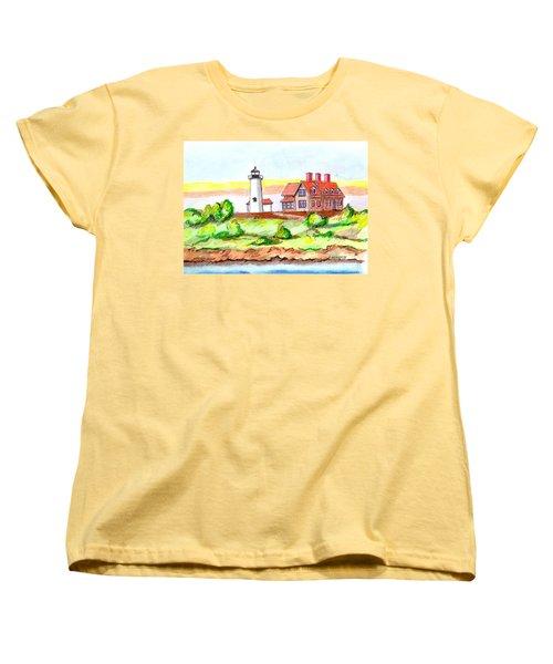 Nobska Point Lighthouse Women's T-Shirt (Standard Cut)