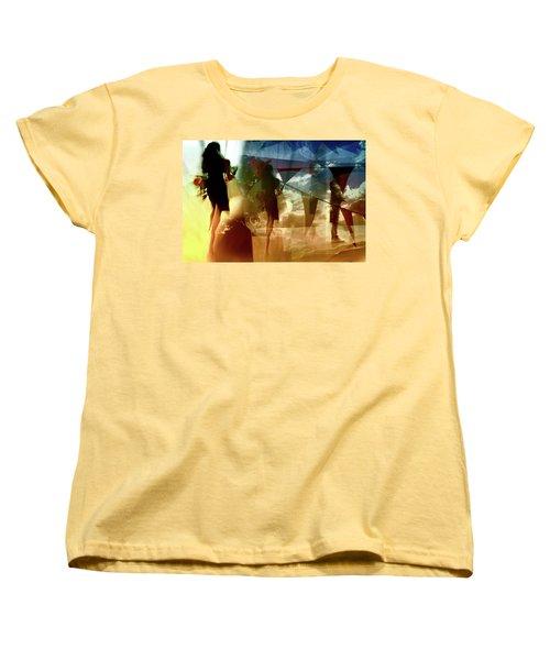 Women's T-Shirt (Standard Cut) featuring the photograph O How Much More Doth Beauty Beauteous Seem by Danica Radman