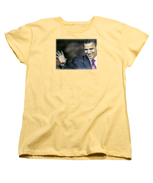 Obama Women's T-Shirt (Standard Cut) by Wbk