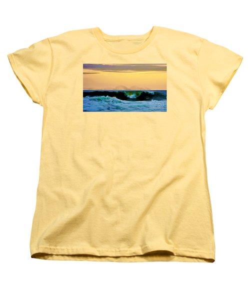 Ocean Power Women's T-Shirt (Standard Cut) by Blair Stuart