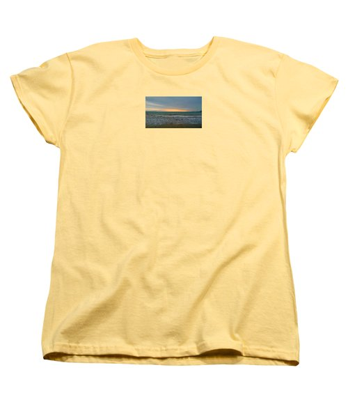October Sunrise Women's T-Shirt (Standard Cut) by Anne Kotan