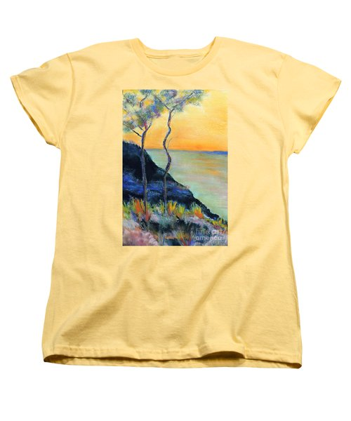 Ode To Monet Women's T-Shirt (Standard Cut) by Jodie Marie Anne Richardson Traugott          aka jm-ART