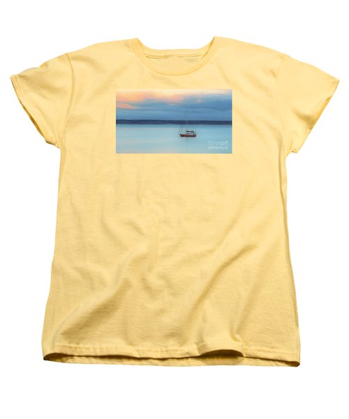 Women's T-Shirt (Standard Cut) featuring the photograph Off Sailing by Stephen Mitchell