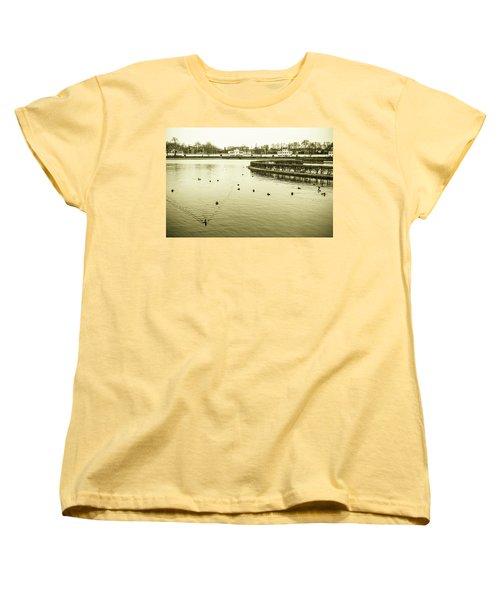 Women's T-Shirt (Standard Cut) featuring the photograph Old Munich by Sergey Simanovsky