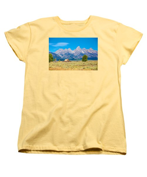 Women's T-Shirt (Standard Cut) featuring the photograph Old Time Community by Robert Pearson
