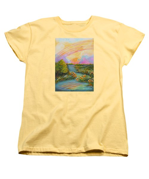 On My Way Women's T-Shirt (Standard Cut)