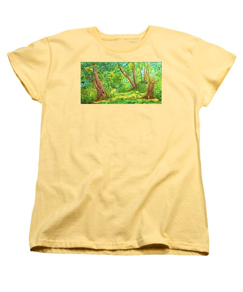 On The Path Women's T-Shirt (Standard Cut) by Susan D Moody