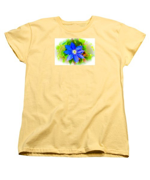 One Bloom - Pla226 Women's T-Shirt (Standard Cut) by G L Sarti
