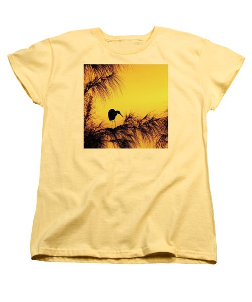 One Of A Series Taken At Mahoe Bay Women's T-Shirt (Standard Cut) by John Edwards