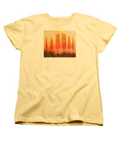 One Treeperhill Women's T-Shirt (Standard Cut) by John Stuart Webbstock