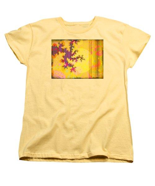 Oriental Moon Behind My Courtain Women's T-Shirt (Standard Cut) by Silvia Ganora
