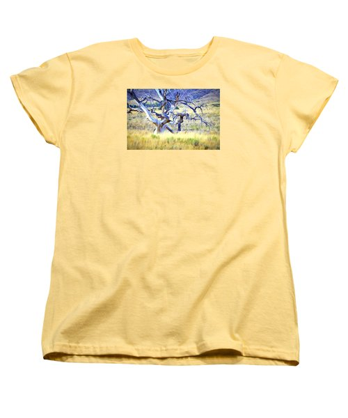 Out Standing In My Field Women's T-Shirt (Standard Cut) by James Steele