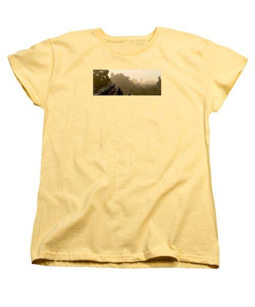 Out The Front Door Women's T-Shirt (Standard Cut) by Steven Lebron Langston