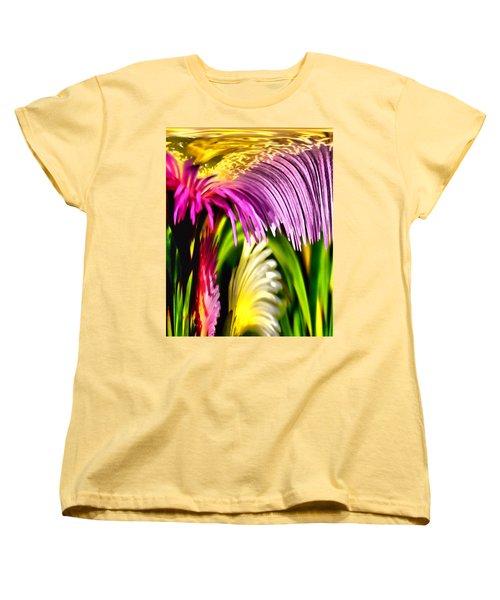 Overflow Women's T-Shirt (Standard Cut) by Bob Wall