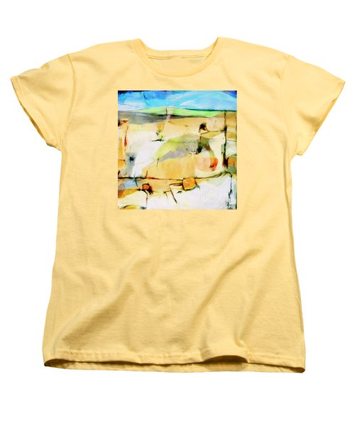 Women's T-Shirt (Standard Cut) featuring the painting Overlook by Dominic Piperata