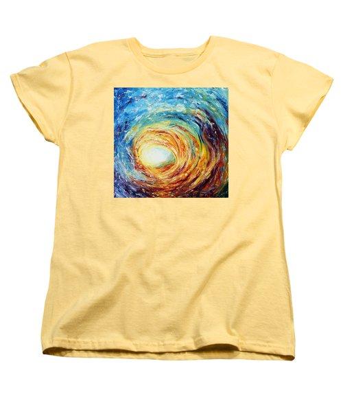 Overwhelmed Women's T-Shirt (Standard Cut)