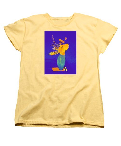 Women's T-Shirt (Standard Cut) featuring the painting Pablo's Vase by Bill OConnor