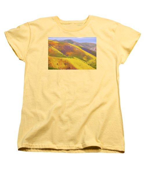 Painted Hills Women's T-Shirt (Standard Cut) by Marc Crumpler
