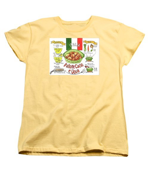 Pallotte Cacio Women's T-Shirt (Standard Cut)