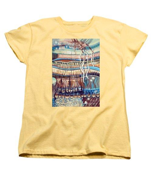 Palm Contractions Women's T-Shirt (Standard Cut) by Kerryn Madsen-Pietsch