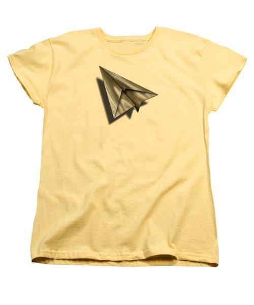Paper Airplanes Of Wood 18 Women's T-Shirt (Standard Cut)