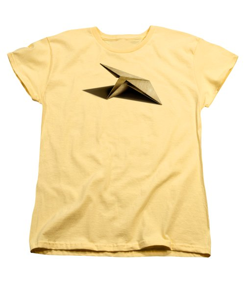 Paper Airplanes Of Wood 7 Women's T-Shirt (Standard Cut) by YoPedro