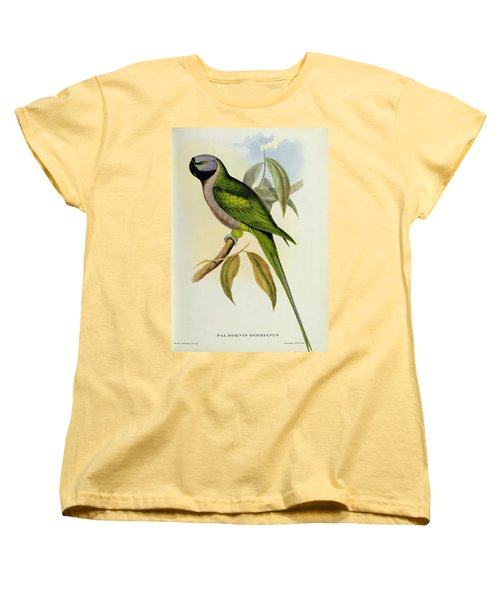 Parakeet Women's T-Shirt (Standard Cut) by John Gould