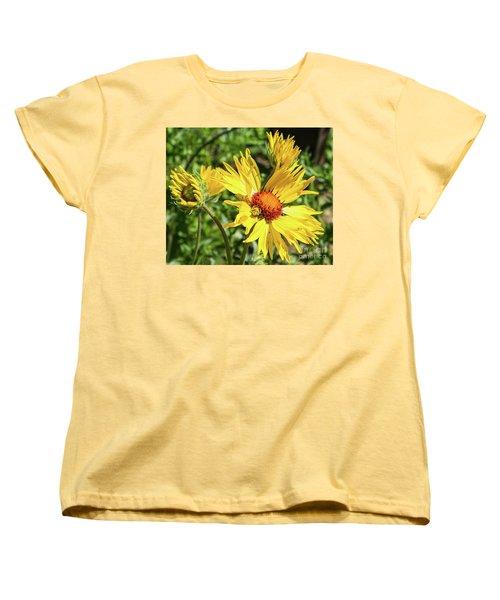 Patient Spider Women's T-Shirt (Standard Cut) by Steven Parker