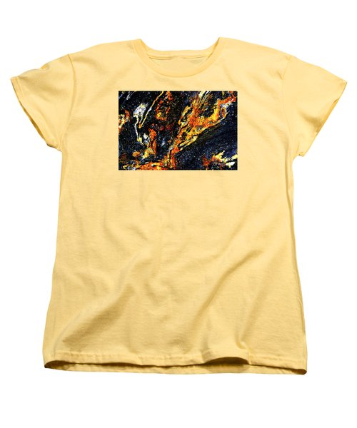Women's T-Shirt (Standard Cut) featuring the photograph Patterns In Stone - 187 by Paul W Faust - Impressions of Light
