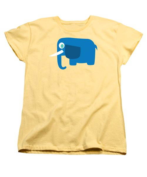 Pbs Kids Elephant Women's T-Shirt (Standard Cut) by Pbs Kids