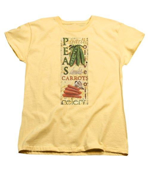 Pea Soup Women's T-Shirt (Standard Cut) by Debbie DeWitt