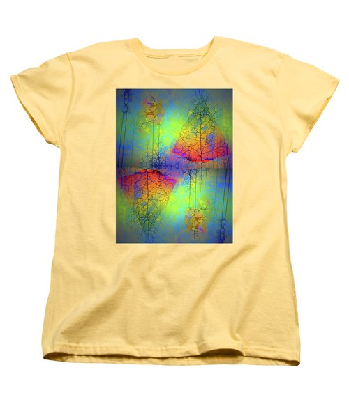 Women's T-Shirt (Standard Cut) featuring the photograph Peace, Love And Happiness by Tara Turner