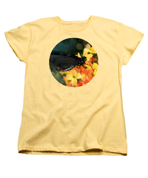 Peachy Women's T-Shirt (Standard Cut) by Anita Faye